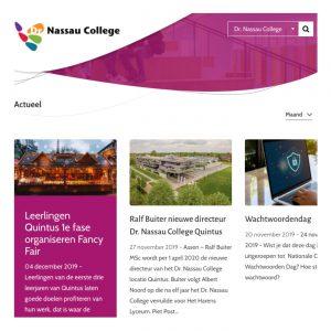 Dr. Nassau College Communicatie