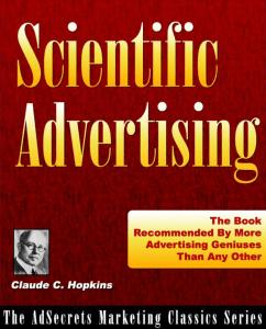Scientific Advertising Claude C. Hopkins